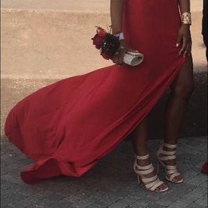 Red dress/ Sherill Hill